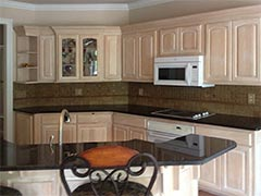 N. Huckins Construction is a custom tile specialist for creating beautiful custom kitchens