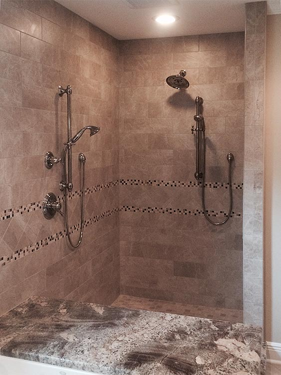Our Custom Tiling Expertise Is An Integral Part Of Stunning Custom Shower  Designs