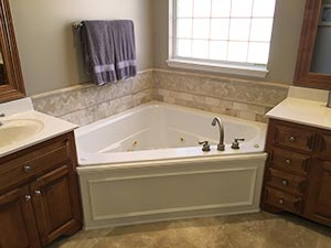 Custom luxury bathroom remodel
