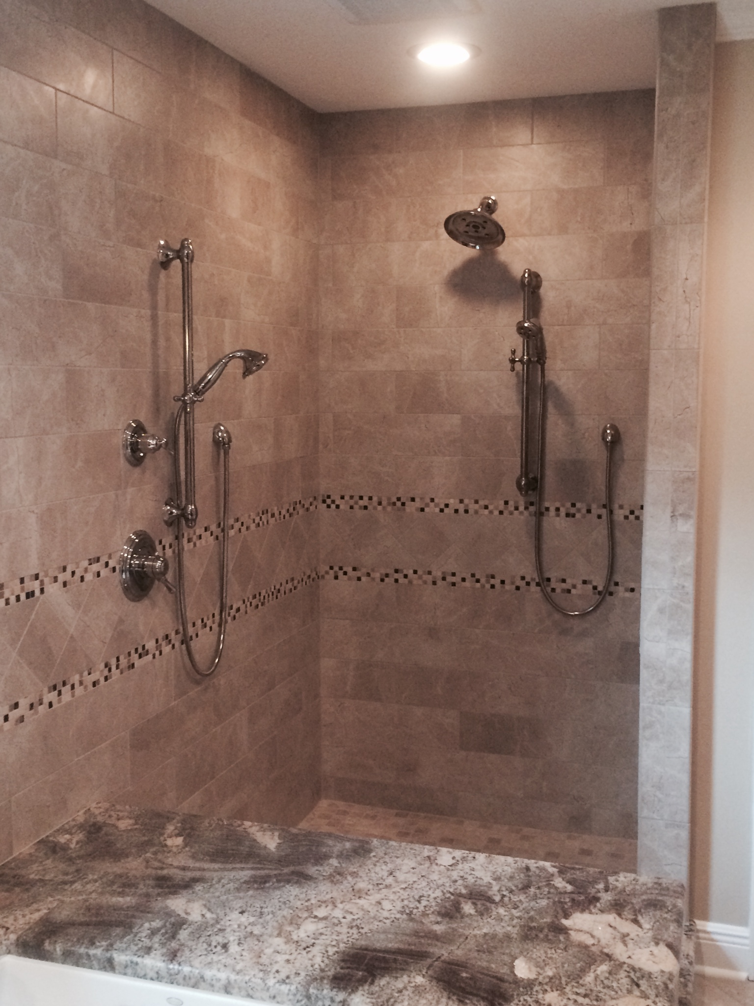Custom Shower Tile Pictures to pin on Pinterest