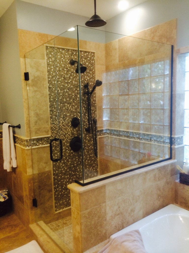 Custom bathroom showers custom showers indianapolis for Custom bathrooms