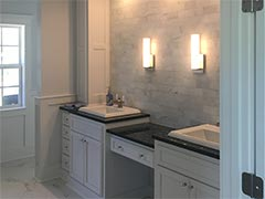 Custom master bathroom and bedroom remodeling project
