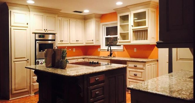 Custom remodeled kitchen project