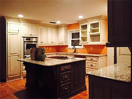 Stunning transformation of kitchen after custom remodeling