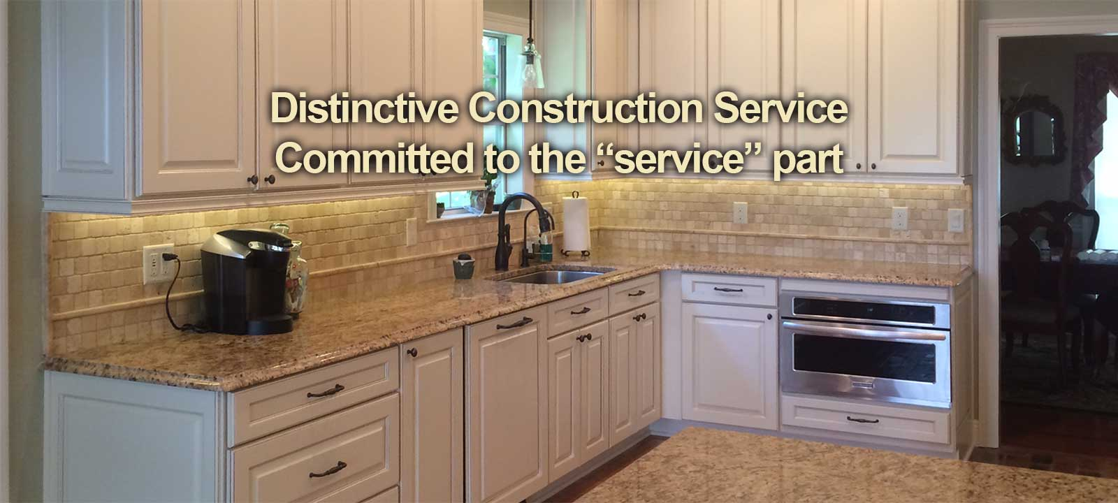 Home construction and remodeling service